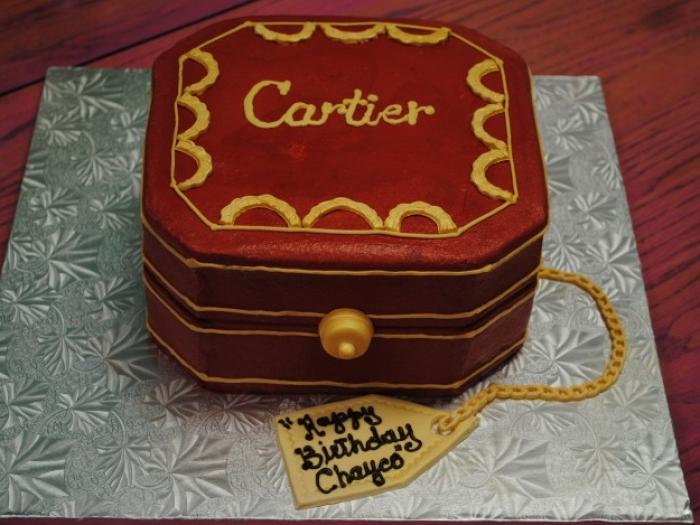 Cartier Birthday Cakes