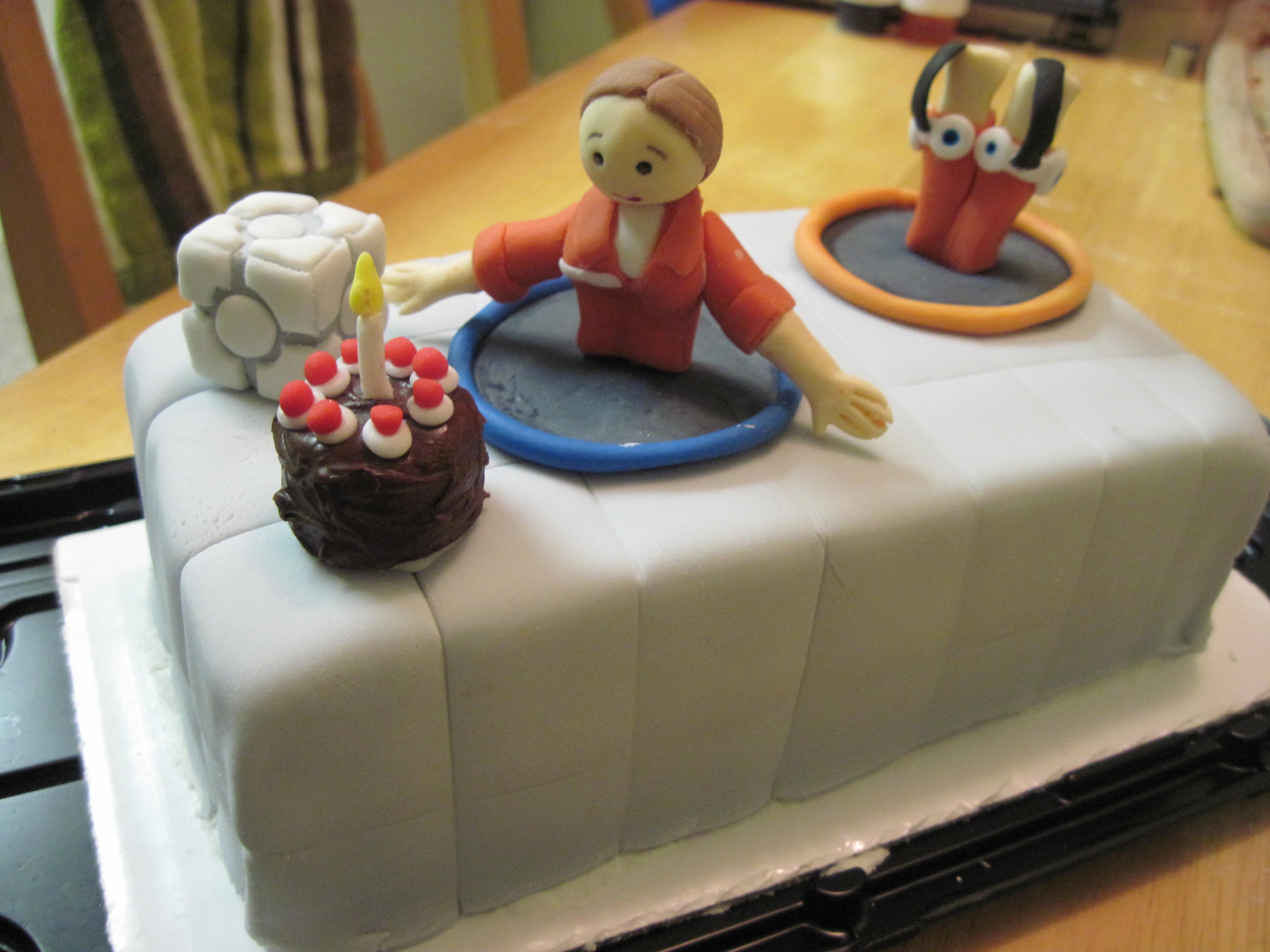 Portal Birthday Cake Meme Wwwmiifotoscom