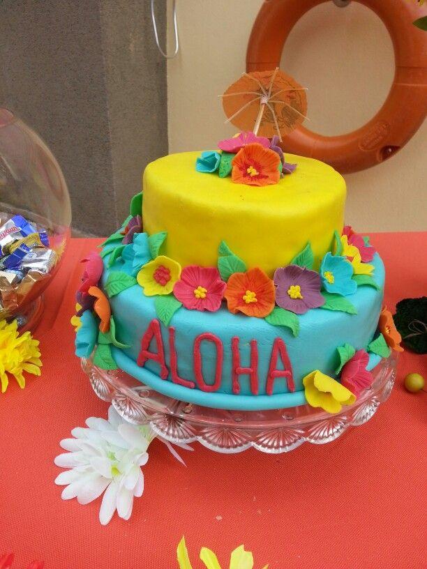 Hawaiian Birthday Cakes