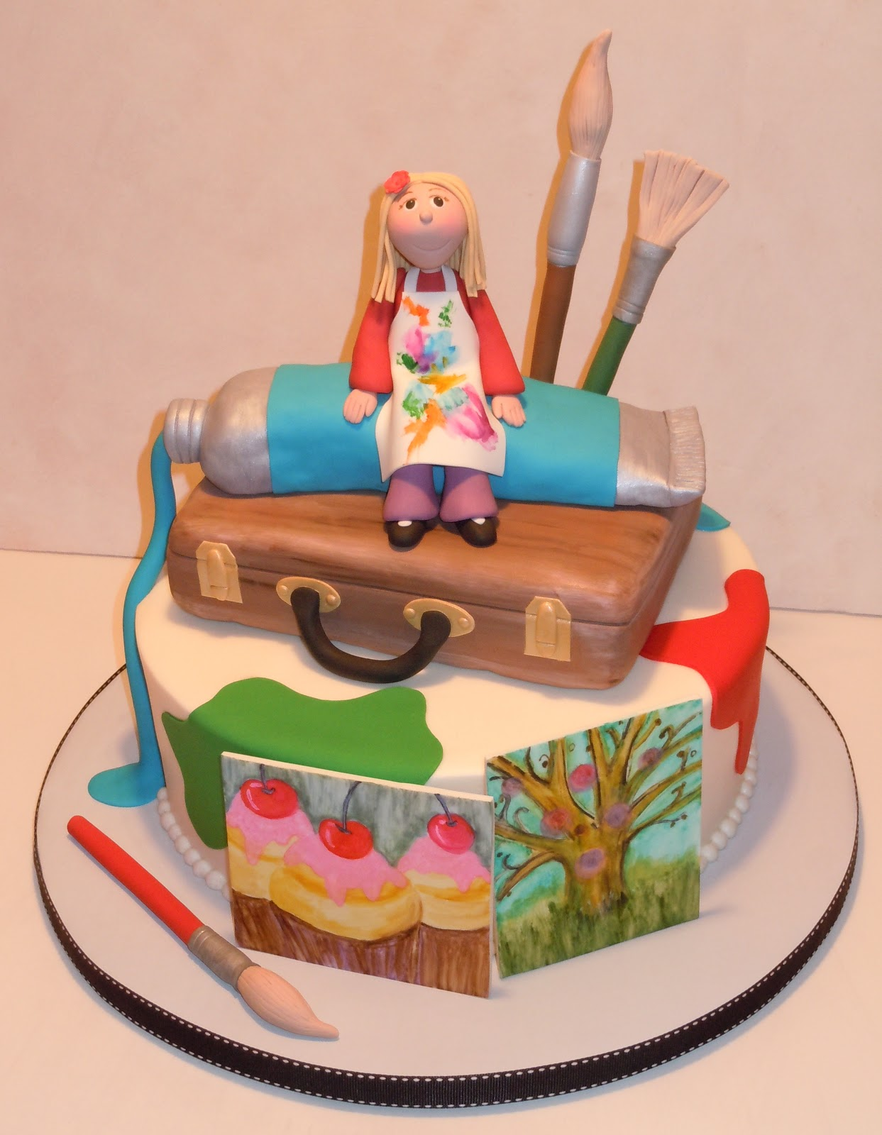 Artist Birthday Cakes