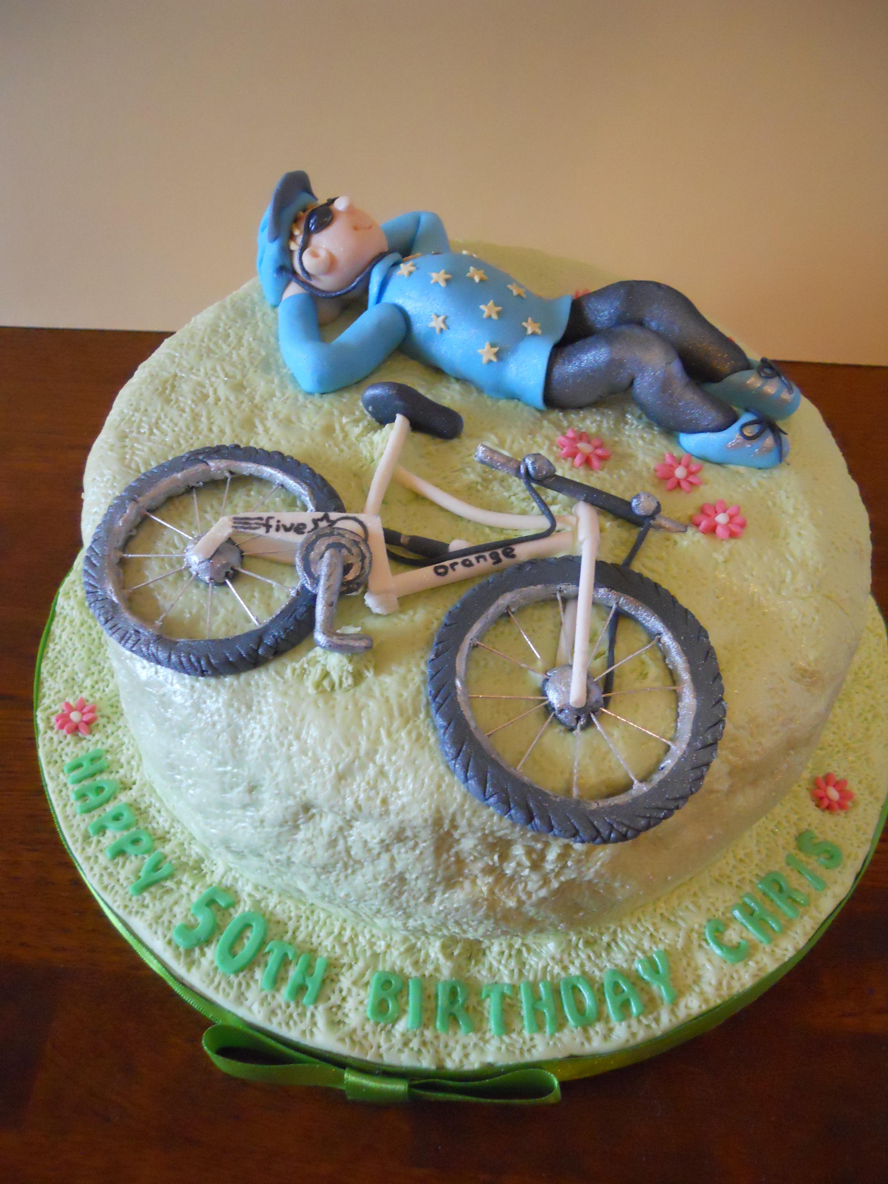 Bike Birthday Cakes