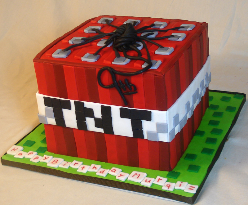 Tnt Birthday Cakes