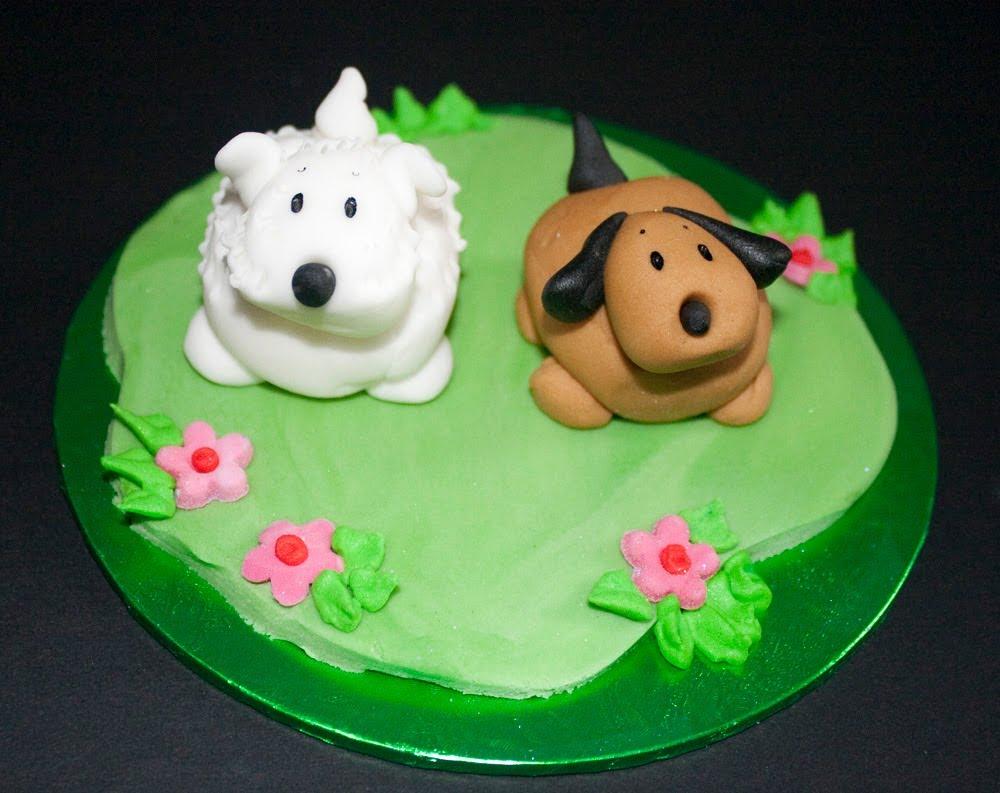 Dog Christmas Cakes
