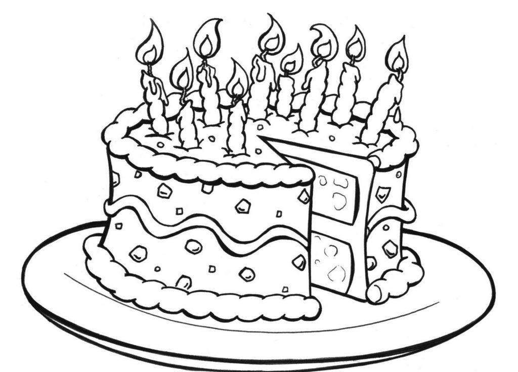 Printable Birthday Cakes