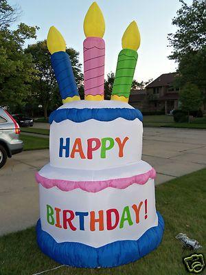 Astounding Birthday Ideas Happy Birthday Blow Up Cake Funny Birthday Cards Online Unhofree Goldxyz