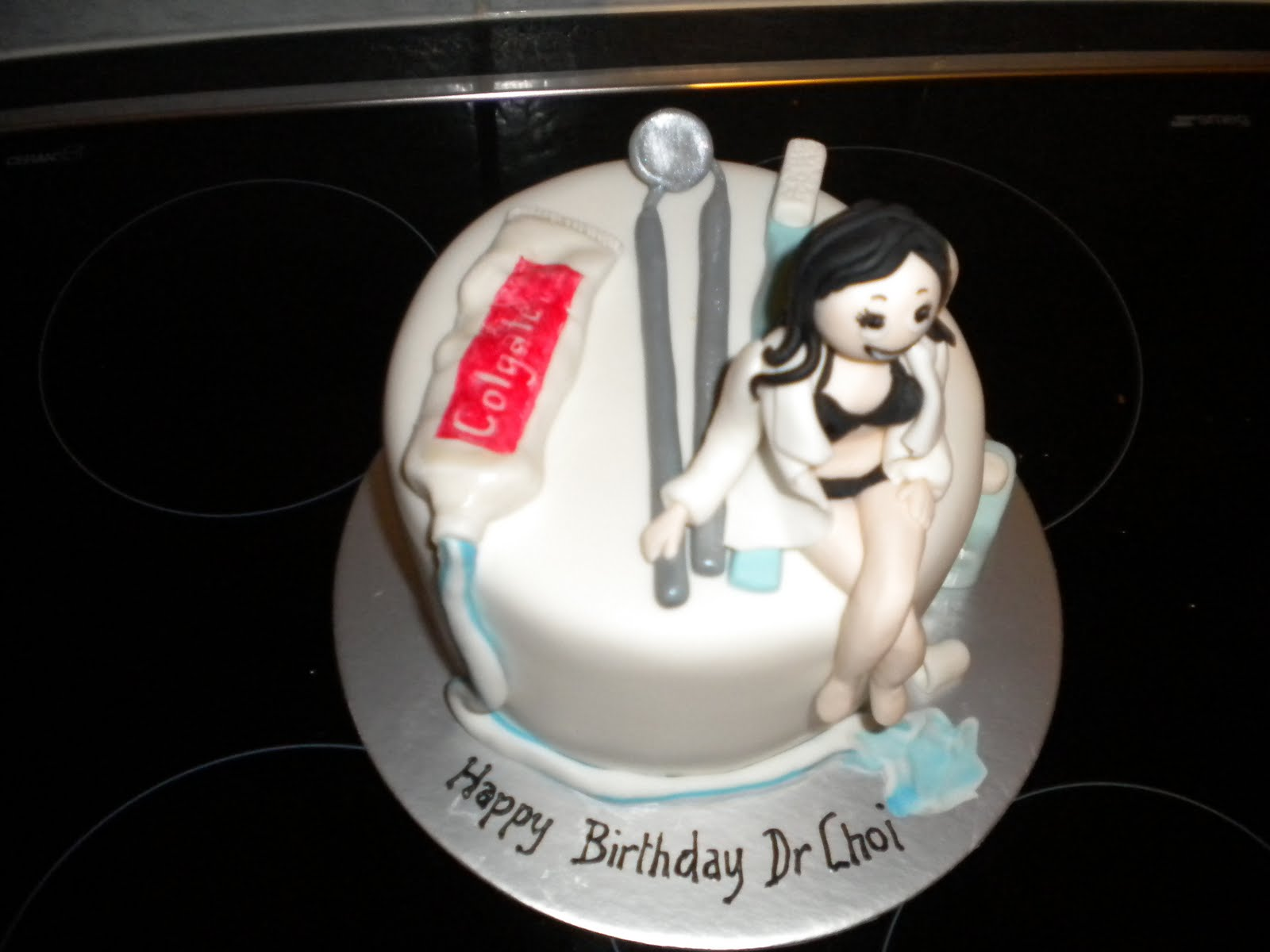 Birthday Cakes For Dentist Jpg 1600x1200