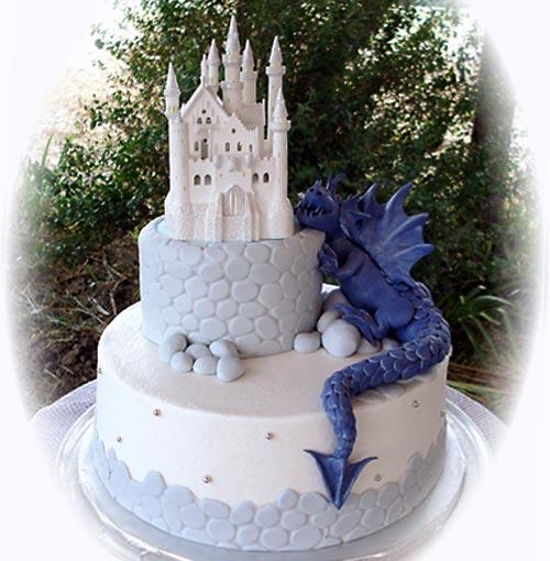 Dragon Wedding Cakes