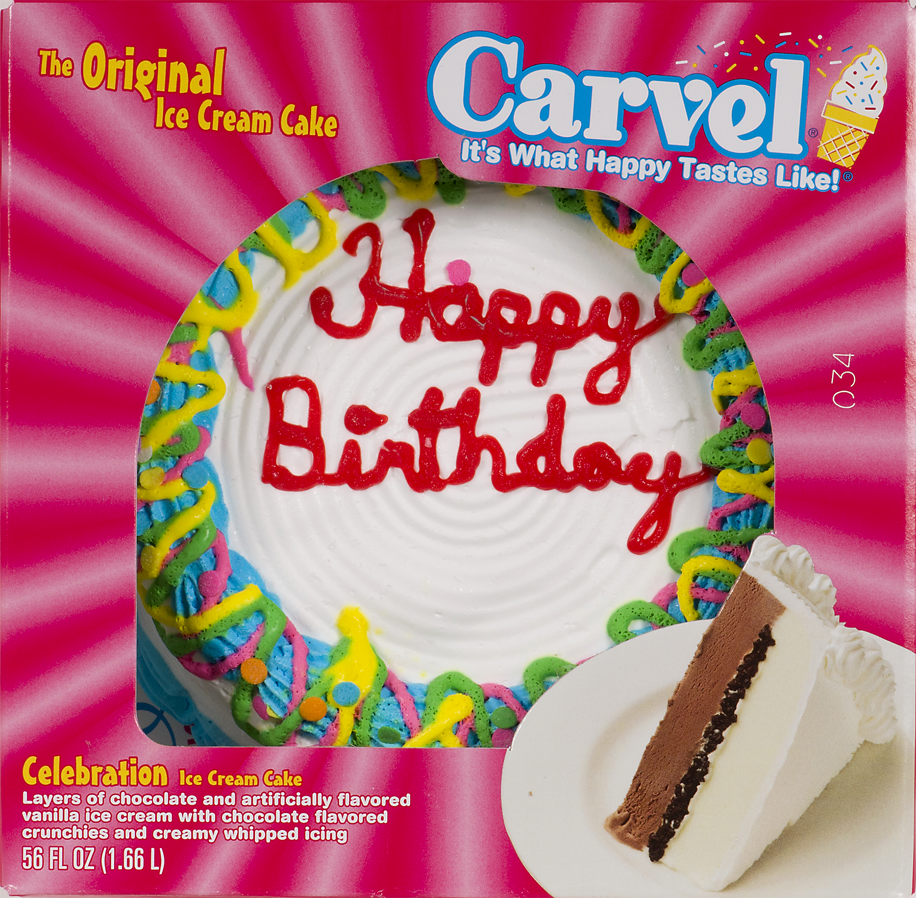 Carvel Birthday Cakes