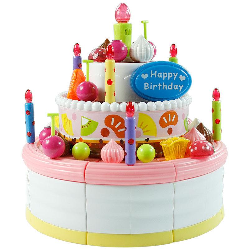 Pretend Birthday Cakes
