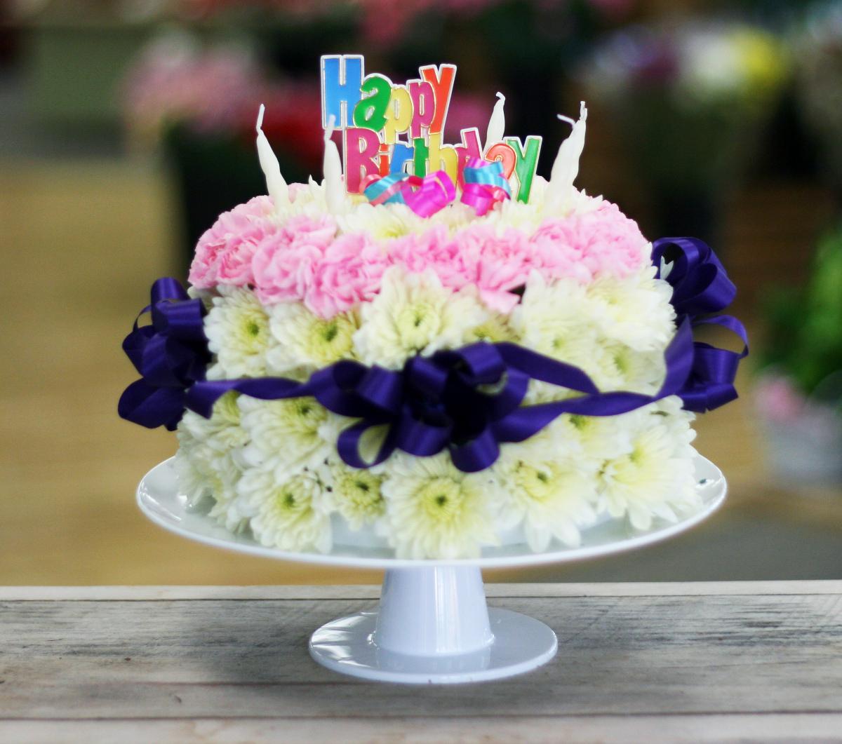Flowers Birthday Cakes