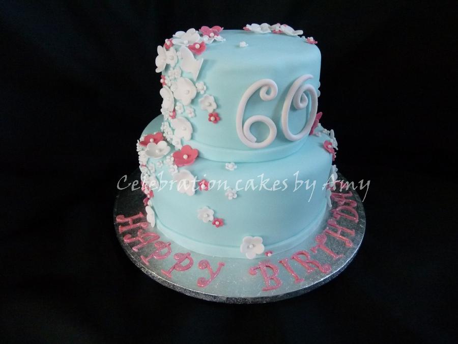 Ladies 60th Birthday Cake Cakes