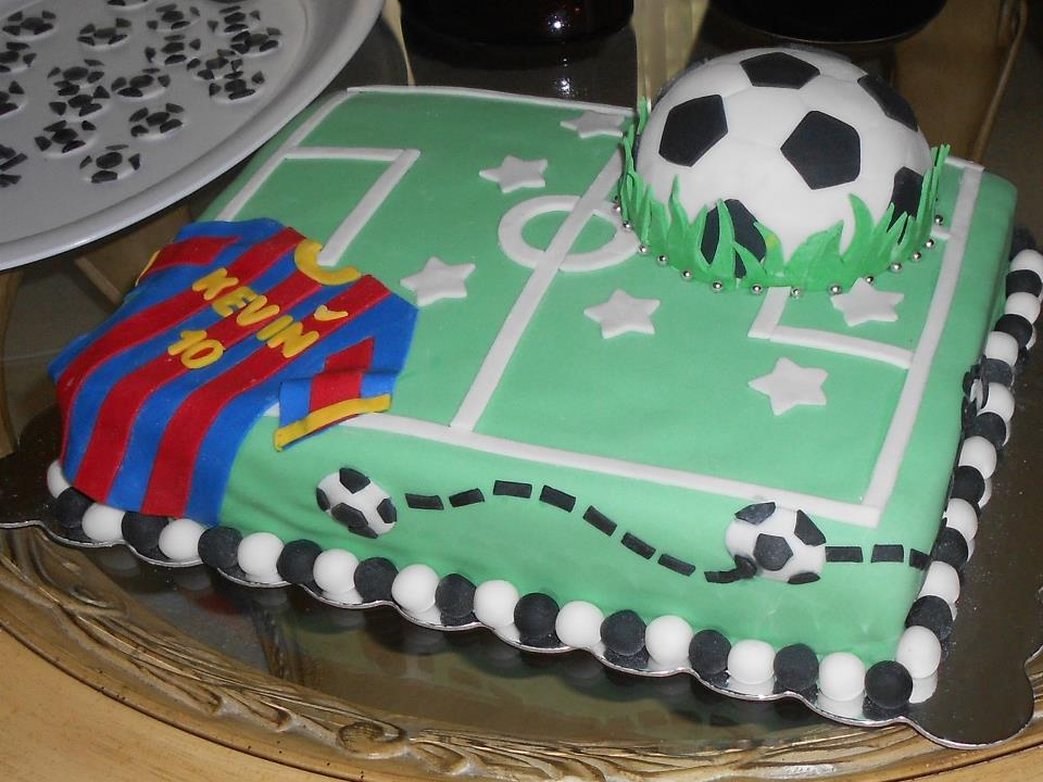 Soccer Birthday Cakes