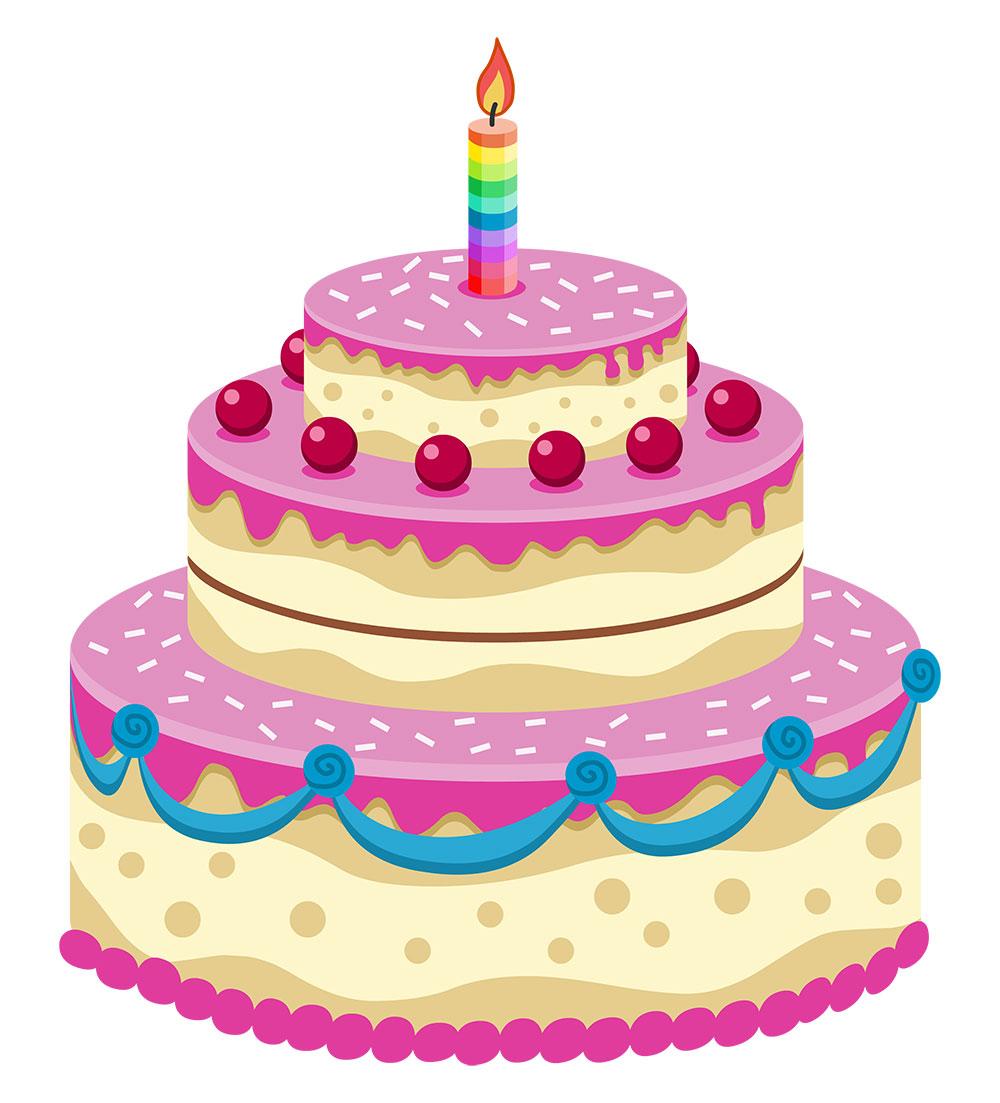 Video Birthday Cakes