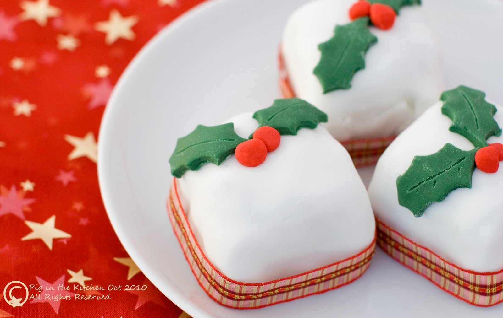 Cooking Christmas Cakes