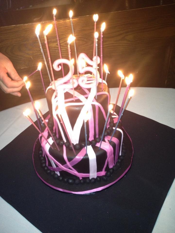 25Th Birthday Cakes