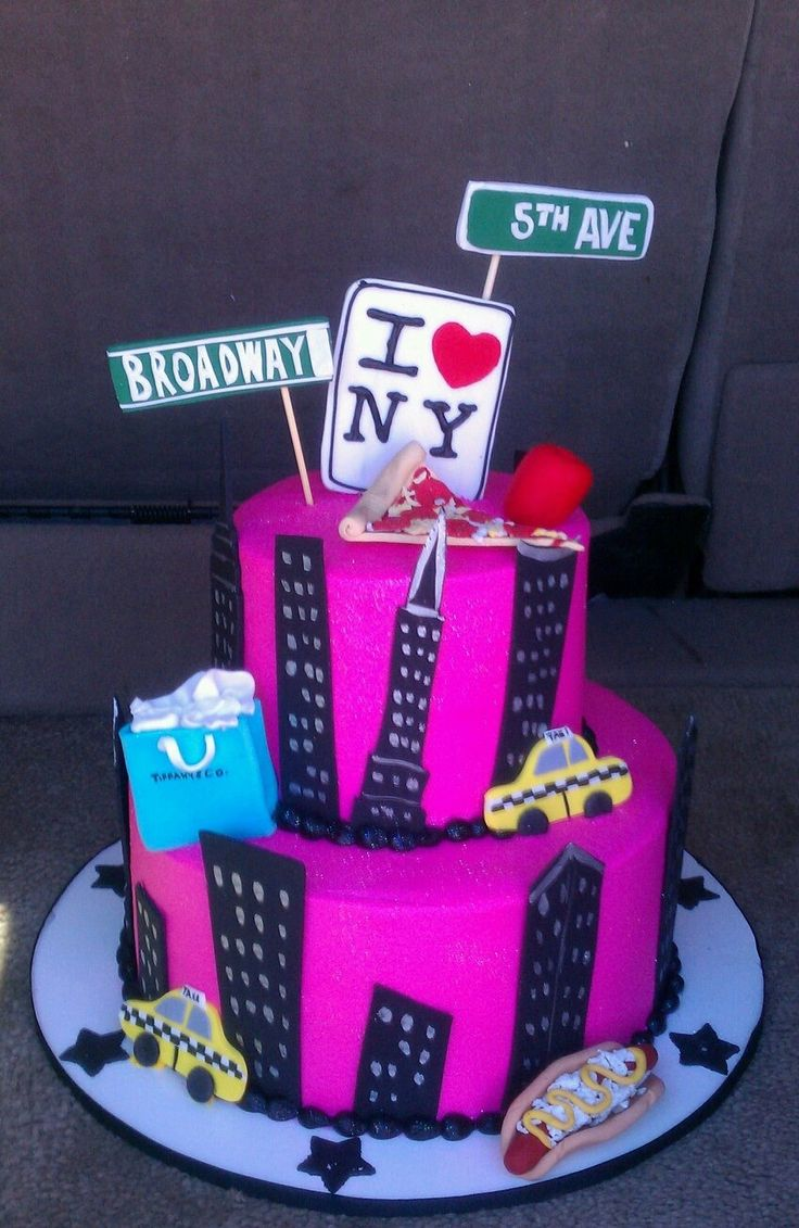 Ny Birthday Cakes