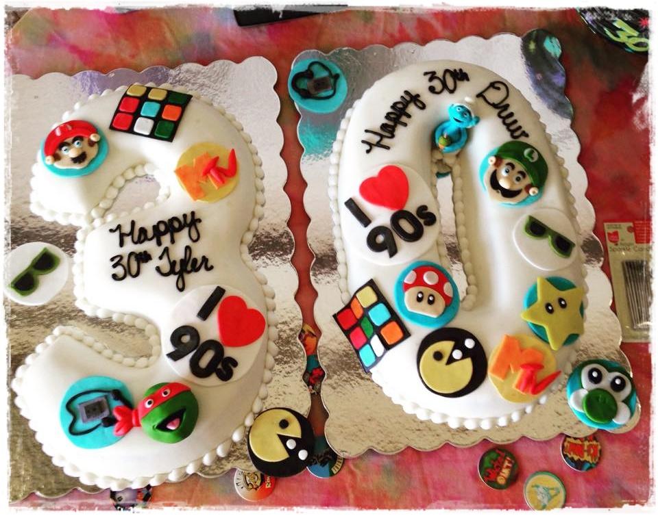 90S Birthday Cakes
