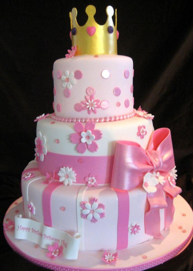Princess Birthday Cakes