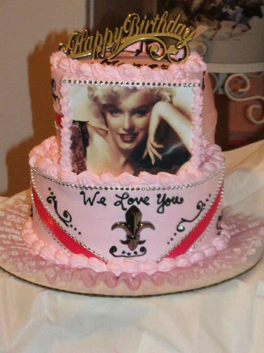 Marilyn Birthday Cakes