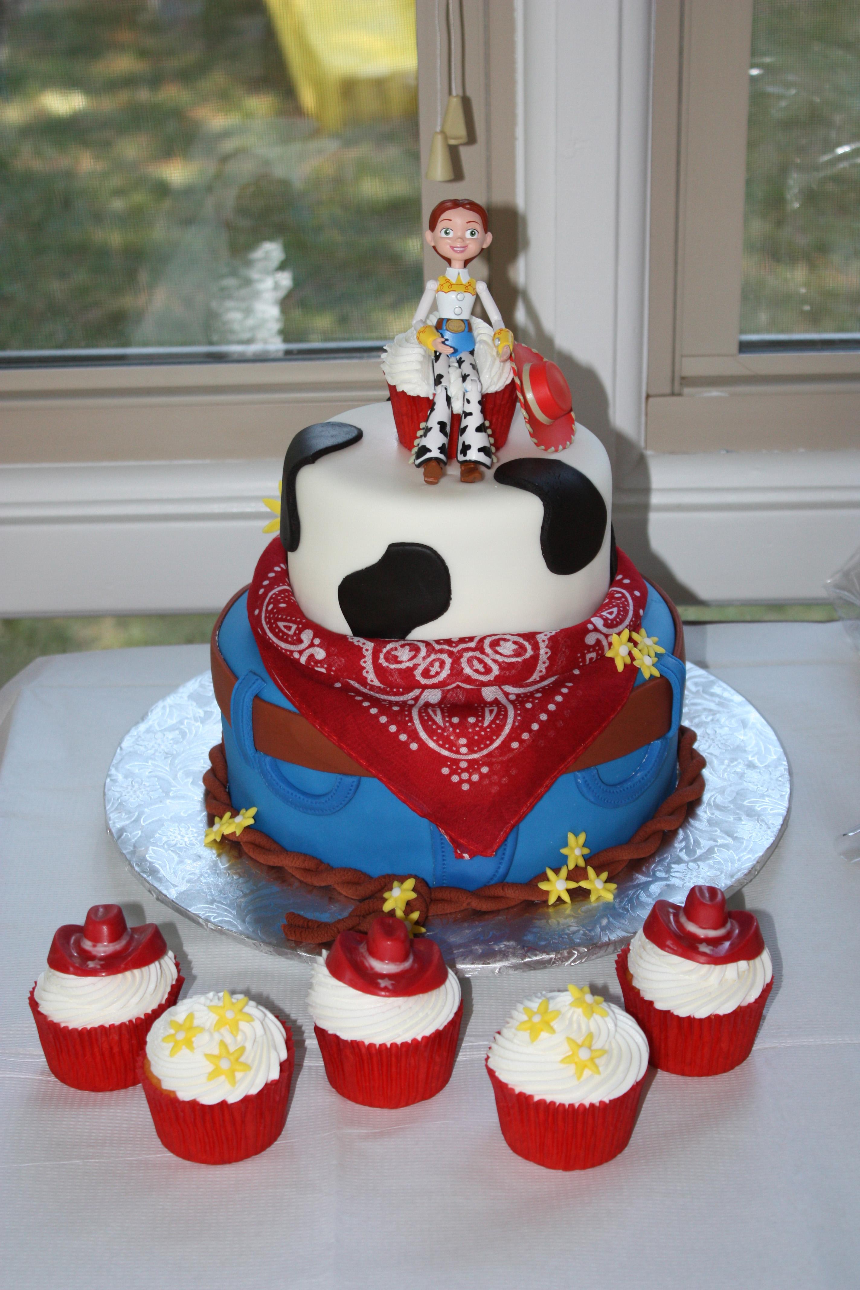 Cake Disney Jessie Party Wwwtollebildcom