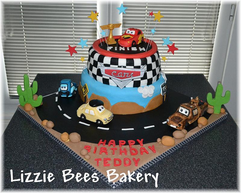 Pixar Birthday Cakes