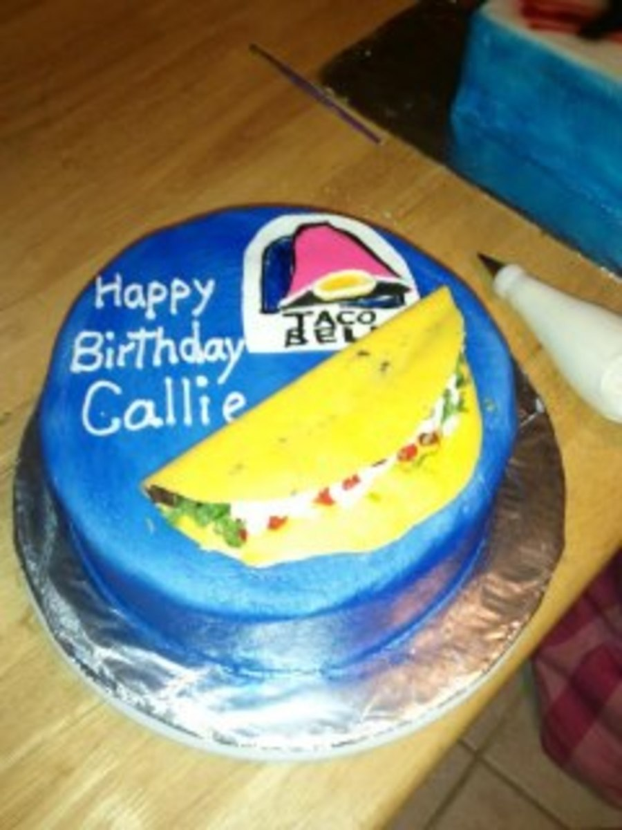 Taco Bell Cake For 14 Year Old Edible CakeCentral
