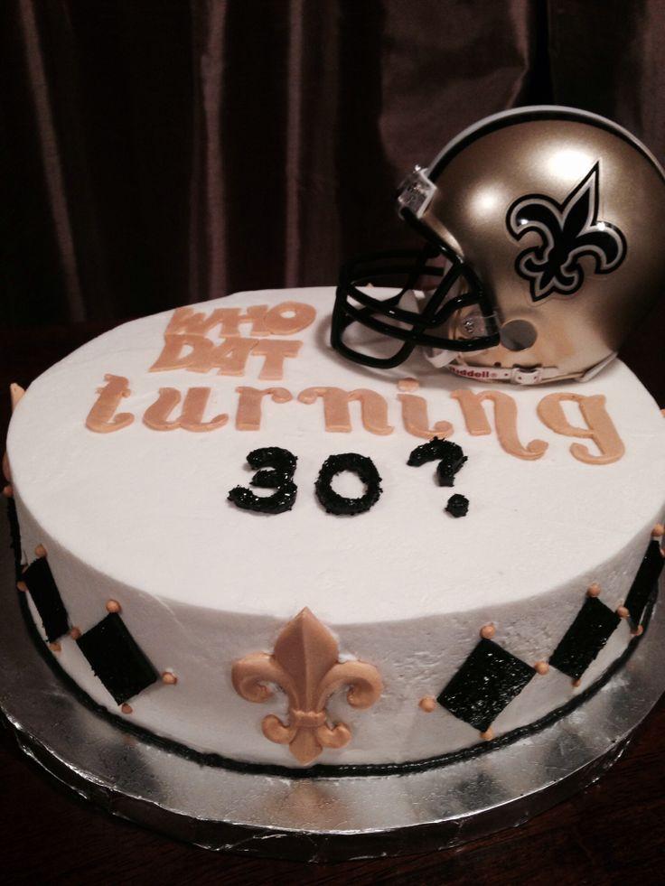 Saints Birthday Cakes