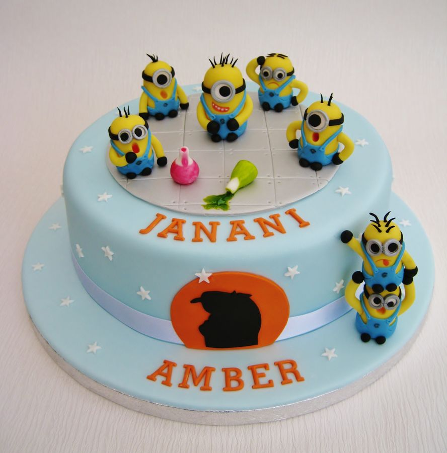 Minion Birthday Cakes