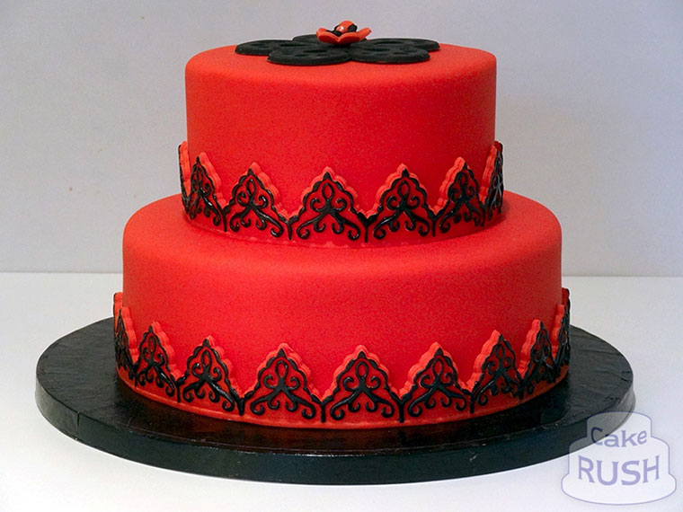 Red Birthday Cakes