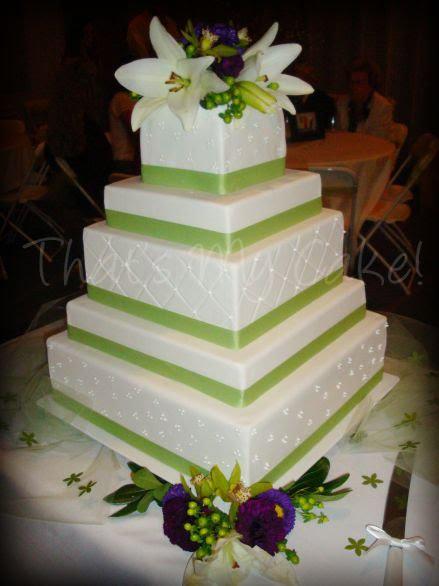 Apple Wedding Cakes