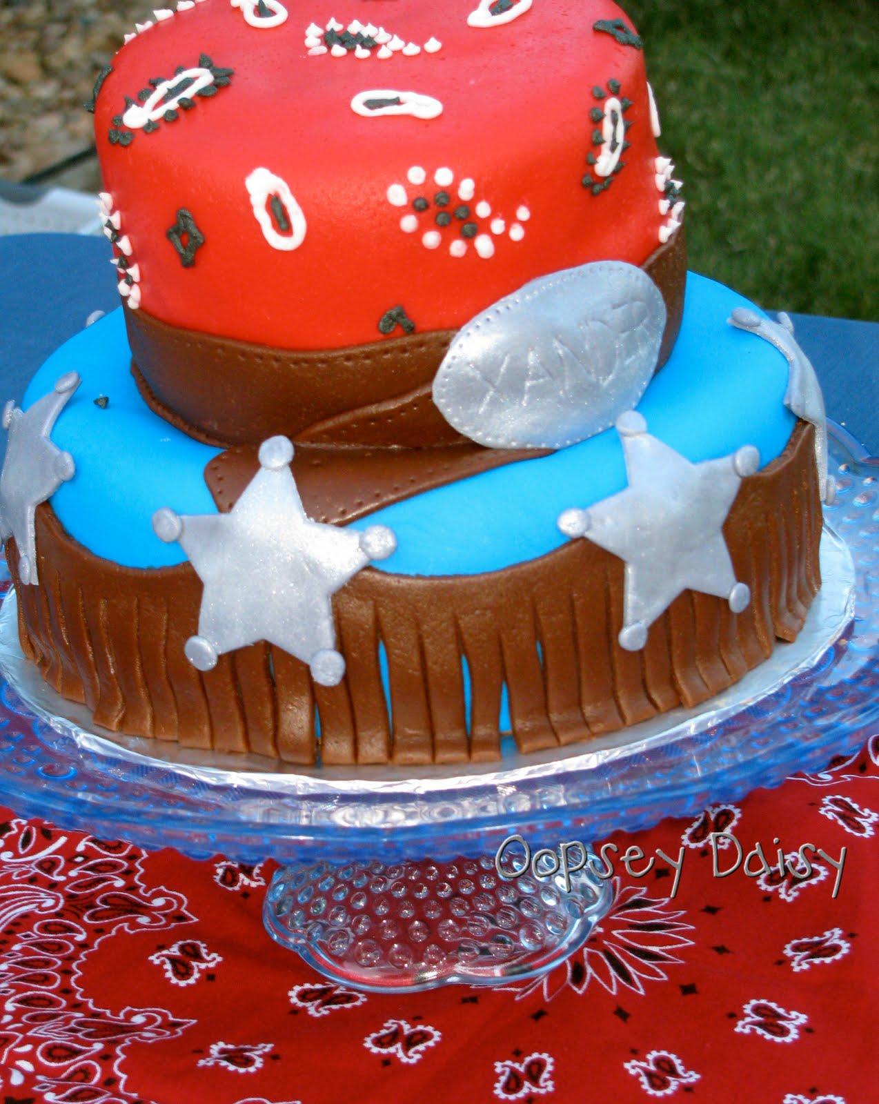 Cowboys Birthday Cakes