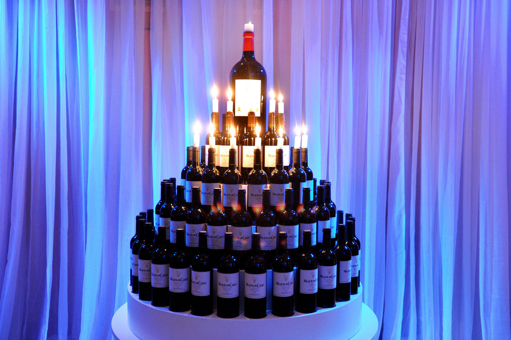 Wine Birthday Cakes