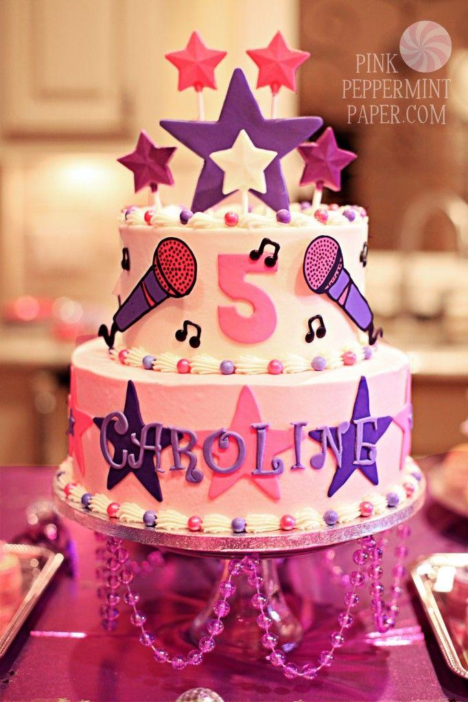 Rockstar Birthday Cakes