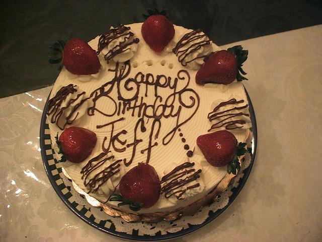 Jeff Birthday Cakes
