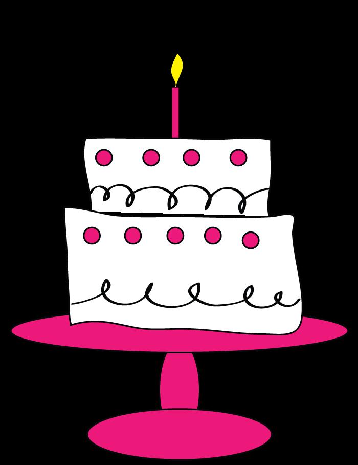 Graphic Birthday Cakes