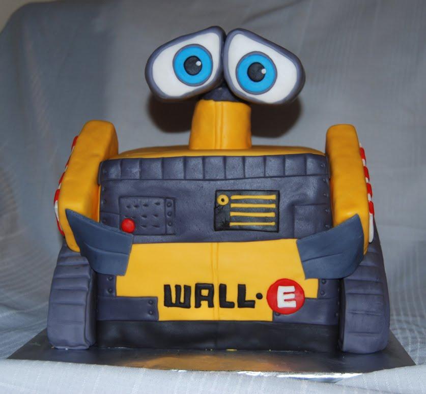 Wall E Birthday Cakes