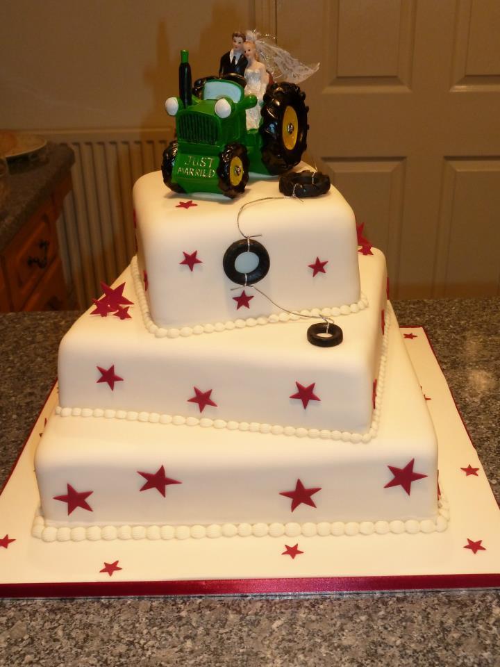 Tractor Wedding Cakes