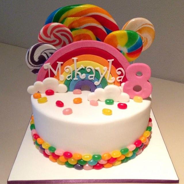 8th Birthday Cakes