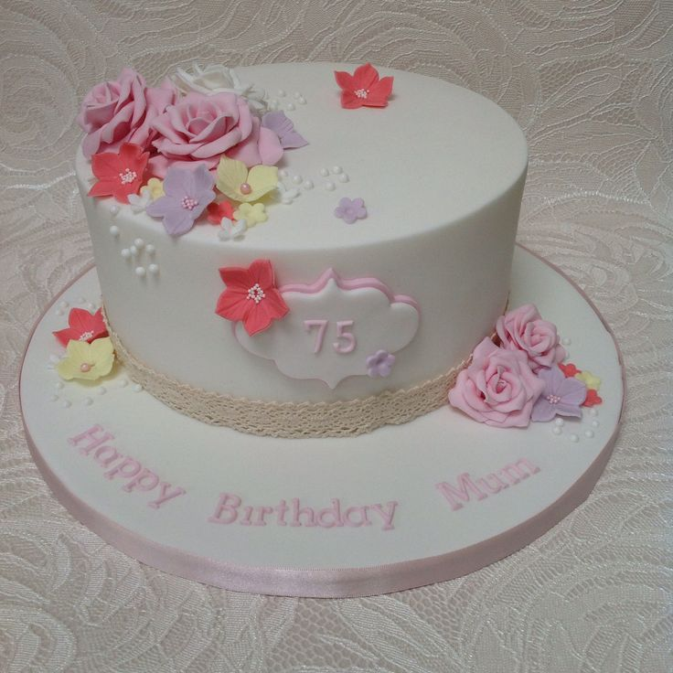 75Th Birthday Cakes