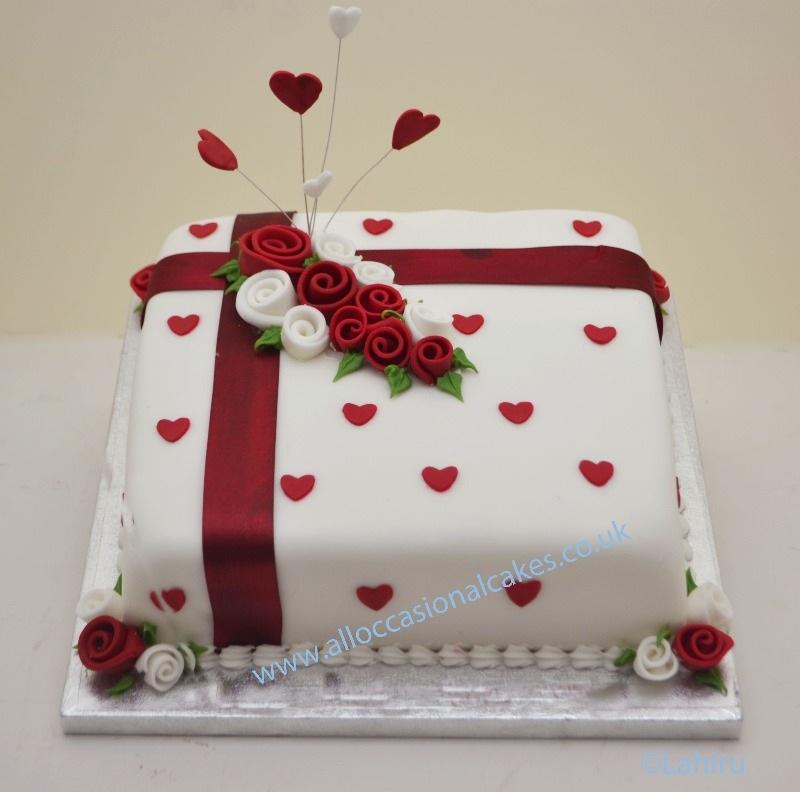 25th Wedding Anniversary Cake Ideas: Best Anniversary Cakes