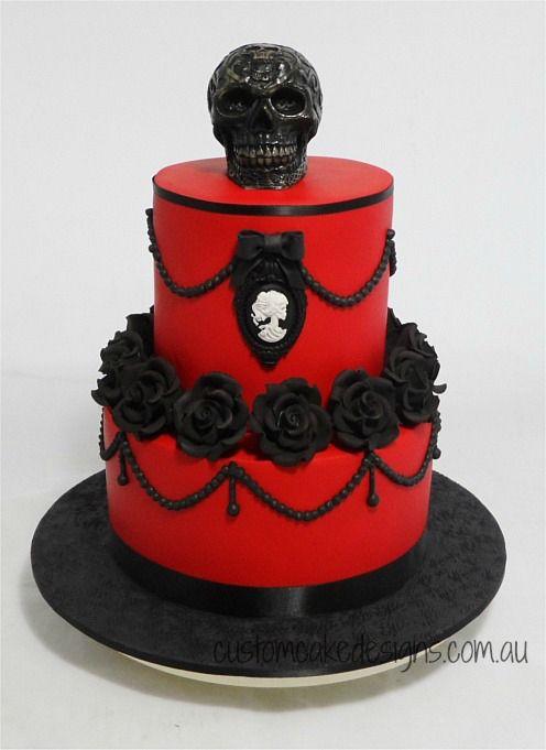 Goth Birthday Cakes