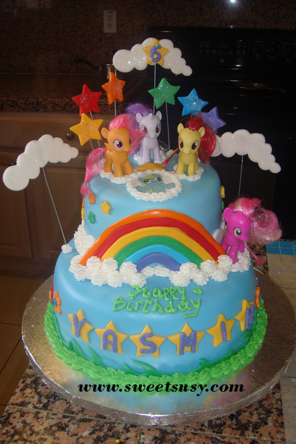 Pony Birthday Cakes