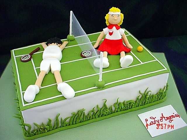 Tennis Birthday Cakes