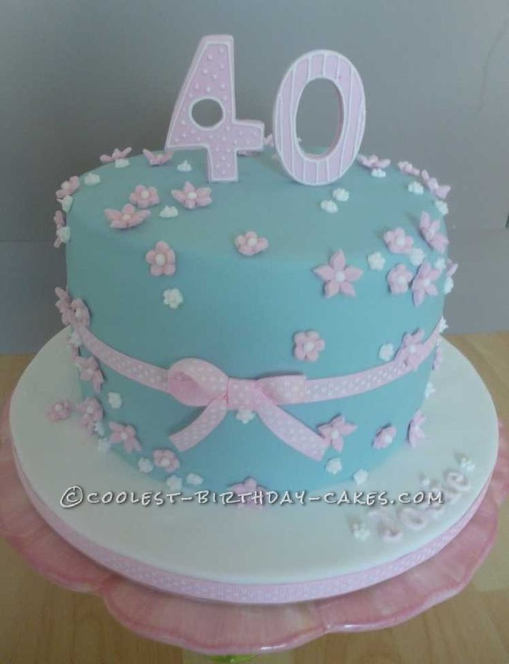 Coolest 40th Birthday Cake Ideas And Designs