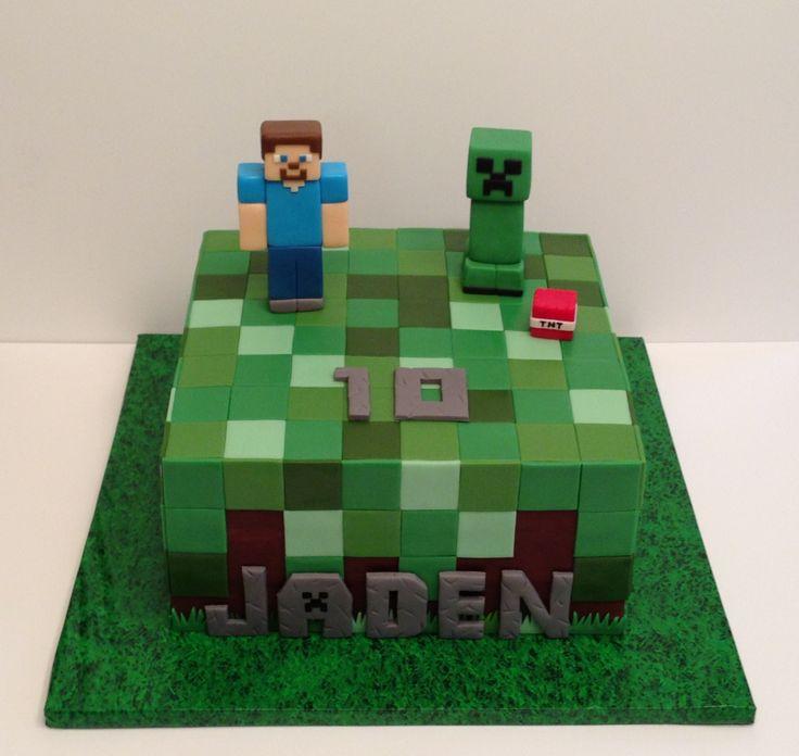 Mincraft Birthday Cakes