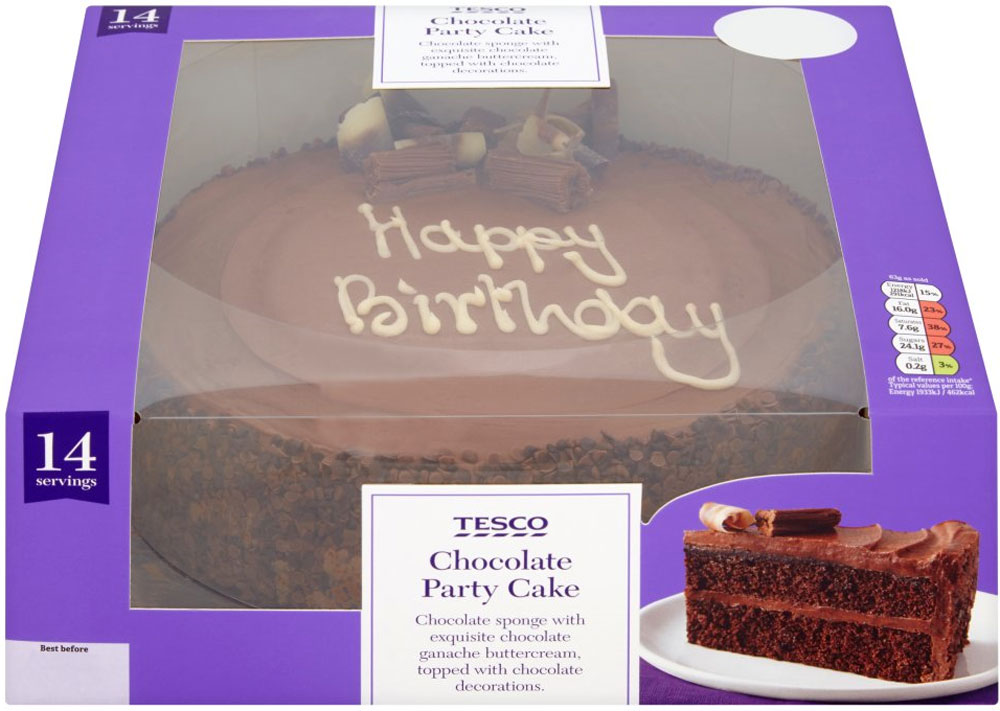 Tesco Birthday Cakes