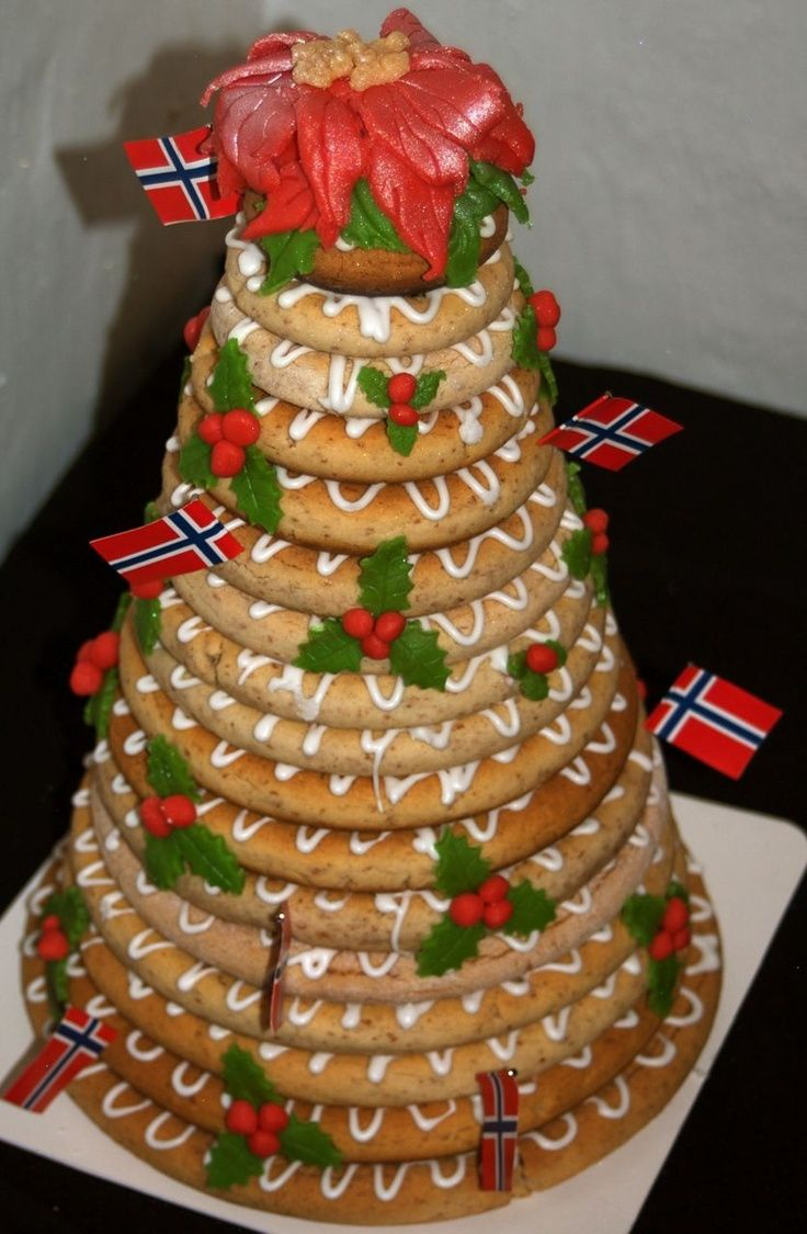Norwegian Christmas Cakes