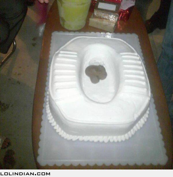 Toilet Birthday Cakes