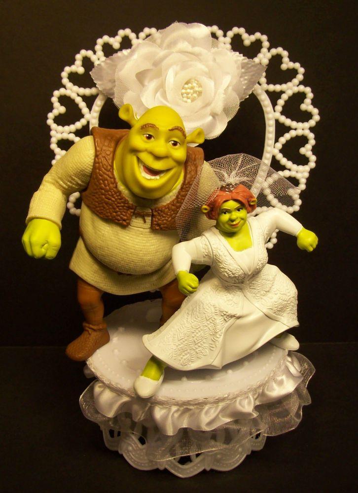 Shrek Wedding Cakes