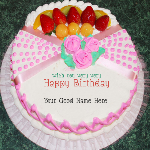 Birthday Cake Quotes With Name